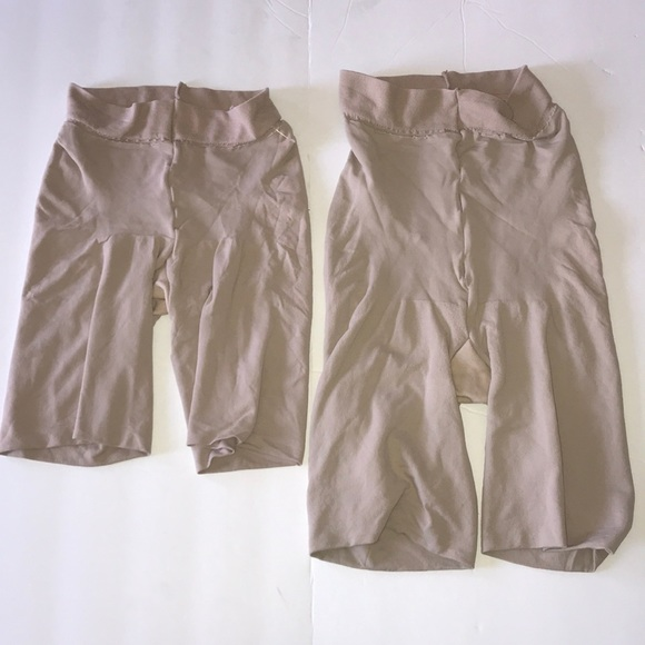SPANX Women/'s Black High Waist Shaping Boy Shorts Sz D $60 NWOT